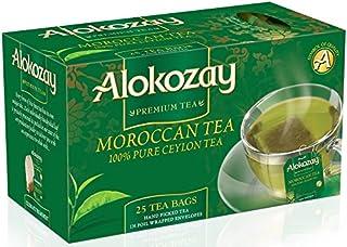 Alokozay Heat Seal Sachets Moroccan Tea Bags, 25 Bags