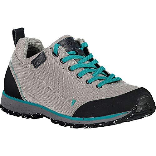 CMP Chaussures de Randonnée Chaussures D'Extérieur Elettra Low WMN Cordura Hiking Chaussures Marron Textile