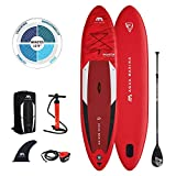 "Stand Up Paddle Board aufblasbar im Set MONSTER 2021 iSUP 12'0"" Stand-Up Paddling SUP-Board 366 x 84 x 15 cm"