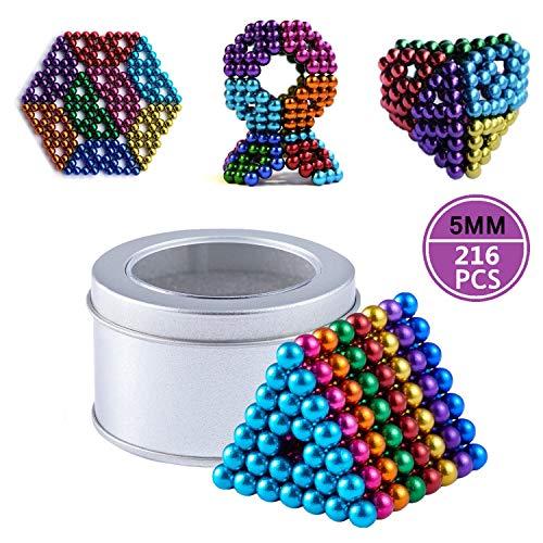 Paochocky 8 Colores Juguetes de Rompecabezas mágico Juguetes Descompresión Desarrollo Inteligente Juguetes Regalo Ideales para niños y Adultos