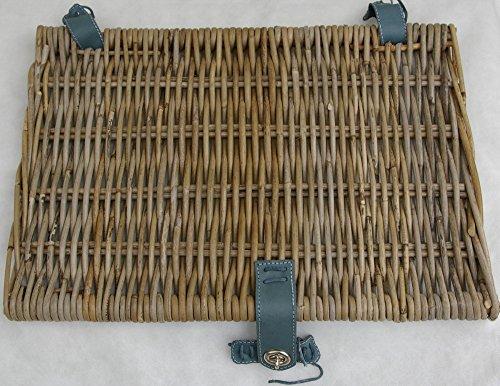 Couvercle de rechange pour panier-gris-taille M