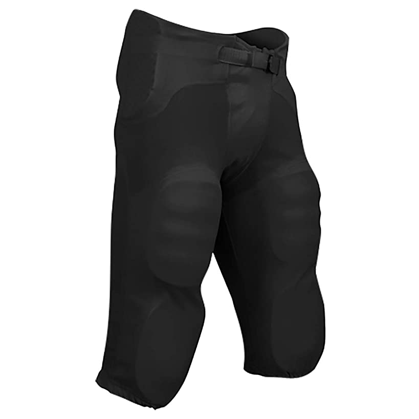 CHAMPRO Sports Adult Safety Integrated Football Practice Pants, Built-in Pads