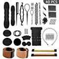 Hair Styling Set, Hair Design Styling Tools Accessories DIY Hair Accessories Hair Modelling Tool Kit Hairdresser Kit Set Magic Simple Fast Spiral Hair Braid