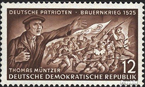 Prophila Collection DDR 398X I seltenes Wasserzeichen 1953 Deutsche Patrioten (Briefmarken für Sammler)