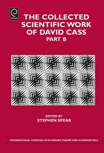The Collected Scientific Work of David Cass: 21