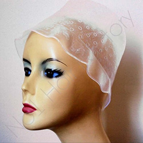 Silicone Hairdressing Highlighting Caps & Hook by no1hairfactory