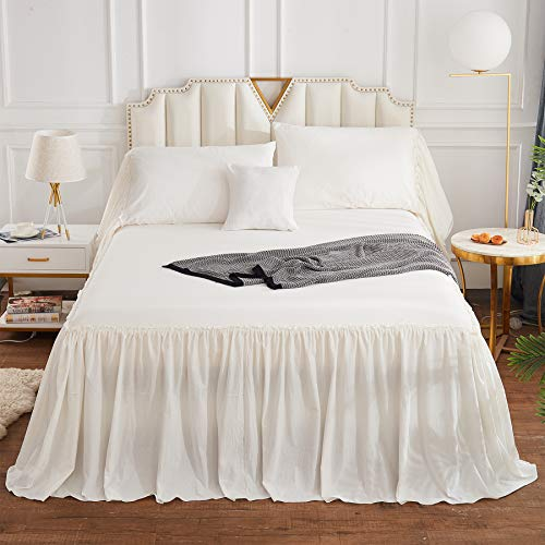 twin extra long bedskirts - 8