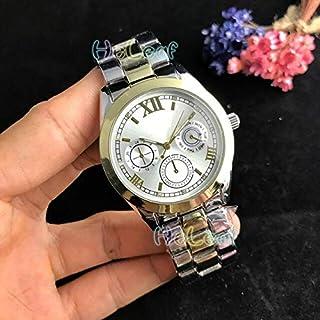 JINN-Women's Watches - Luxury Fashion Women Watches Silver Gold Stainless Steel Band Quartz Watch Female Clock Montre Femm...