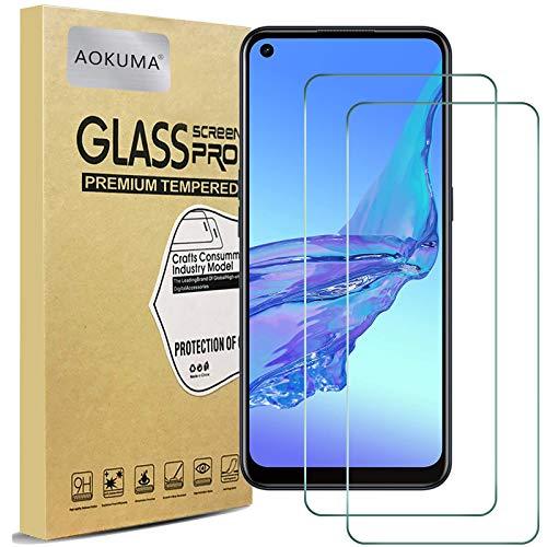 AOKUMA Cristal Templado OPPO A53S, [2 Unidades] Protector Pantalla para OPPO A53S...