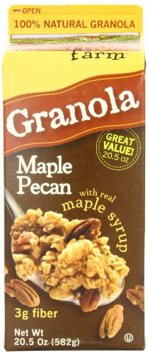 Sweet Home Farm Maple Pecan Granola, 20.5-Ounce Cartons (Pack of 4)