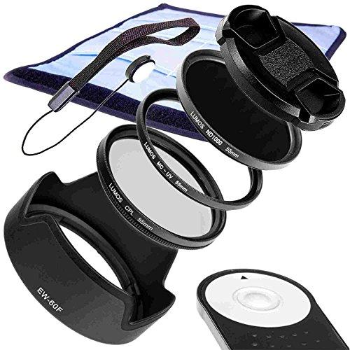 Accesorios Sets compatible con Canon Sistema Kit para cámara EOS M6M5& Objetivo EF-M 18–150mm IS STM