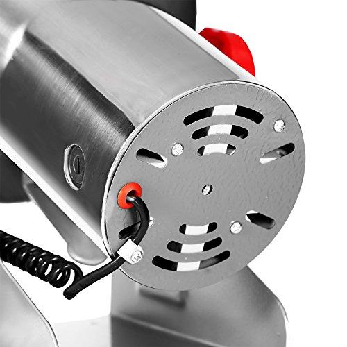 Geindus 1000g Mophorn Electric Grain Mill Grinder Powder Machine 2800W 50-300 Mesh Food Grade Stainless Steel for Kitchen Herb Spice Pepper Coffee