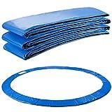 Arebos Trampolin Randabdeckung Federschutz | 183, 244, 305, 366, 396, 457 oder 487 cm | aus PVC und PE | Reißfest | 100% UV-beständig | Blau (blau, 183 cm)