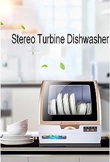 Mini lavavajillas de sobremesa para lavavajillas, TODO el sistema de tormenta de ducha para lavavajillas todo montado, cuatro opciones de función, consumibles posteriores a los LA 4.4l / 45 * 43 37 cm