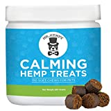 Calming Treats for Dogs – Composure Support and Calming Aid with Hemp Oil and Melatonin - Provides Anxiety and Stress Relief for Storms, Fireworks, Separation and Barking - 100 Tasty Treats