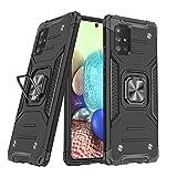 DASFOND Diseñado para Galaxy A71 5G Funda, Funda Protectora de Grado Militar ...