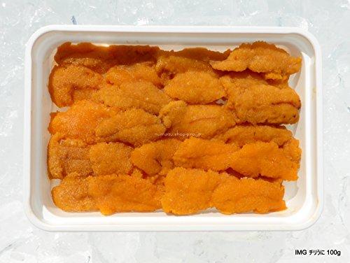 生食 お寿司屋さん仕様の 冷凍うに ハーフブランチ 100g Aグレード チリ産
