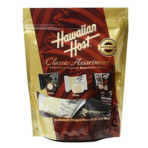 ハワイアンホースト マカデミアナッツチョコレート クラシックアソートメント スタンドアップバッグ