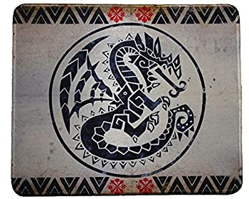 Monster Hunter Rise World Gaming Mouse Pad Collection 12x10 inches Custom Mousepad Gaming mat Rathian