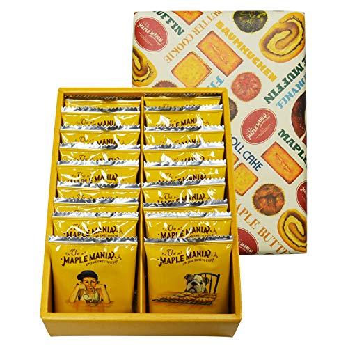ザ・メープルマニア メープルバタークッキー18枚入 ラングドシャ お土産 個包装