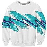 ZeePX Harajuku sweatshirt 3D Swag Paper Cup Hoodies 90s Jazz Solo Sweatshirts