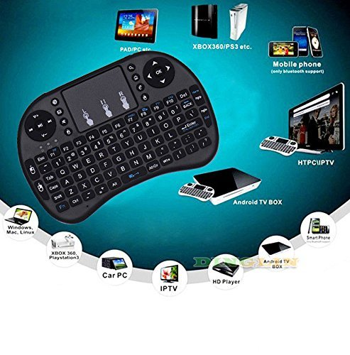 New 2.4G Mini Wireless Keyboard & Mouse Combo Portable Handheld Airfly Mouse for Google Android TV Box PC HTPC AC624