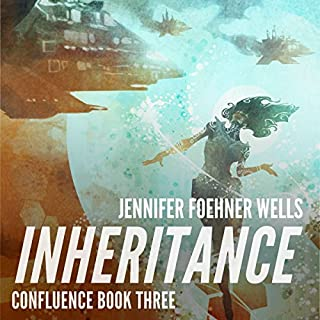 Inheritance     Confluence, Book 3              Auteur(s):                                                                                                                                 Jennifer Foehner Wells                               Narrateur(s):                                                                                                                                 Robin Miles                      Durée: 11 h et 19 min     2 évaluations     Au global 5,0