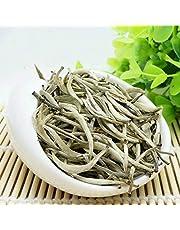 100g (0.22LB) Aguja de plata, té blanco té Baihaoyinzhen punta blanca aguja de plata té punta de plata pekoe té árbol viejo comida orgánica natural té té crudo té chin