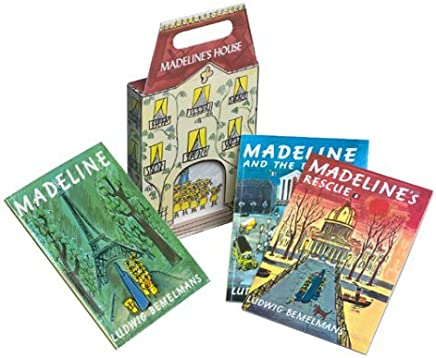 Madelines House Miniature Editions Box Set by Ludwig Bemelmans (September 01,1989)