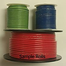 RED 14AWG Stranded 600V Hook Up Wire - 25' Roll