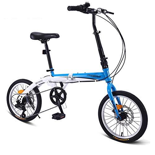 WXLSQ Outroad de Bicicletas de montaña de 16 Pulgadas de Bicicletas, con...