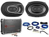 """(2) Polk Audio MM692 6x9"""" 900w 3-Way Car Audio/Marine Speakers+2-Ch..."""