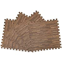 ジョイントマット6畳用木目調(ペットのクッションフロア)