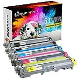 5 Bubprint Toner kompatibel für Brother TN-241 TN-245 für DCP-9015CDW DCP-9020CDW HL-3140CW HL-3150CDW HL-3170CDW MFC-9130CW MFC-9140CDN MFC-9330CDW MFC-9340CDW Set