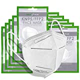 HALO PLUS 10pcs FFP2 6 maschere di protezione a 6 strati, respiratore antipolvere monouso per uso quotidiano, involucro sigillato individuale