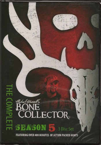 Bone Collector Tv Season 5 Complete 3 DVD Set Hunting Mike Waddell [DVD]