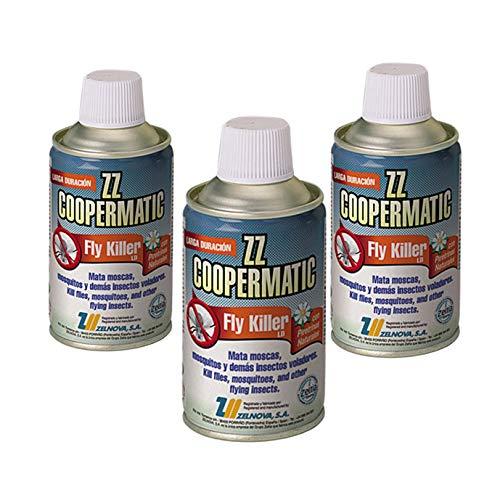 Becam Pack 3 Aerosoles Insecticida para Matar Moscas, Mosquitos y demás Insectos Voladores
