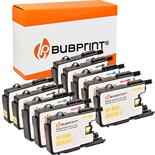 Bubprint Kompatibel Druckerpatronen als Ersatz für Brother LC-1220 LC-1240 für DCP-J525W DCP-J725DW DCP-J925DW MFC-J430W MFC-J5910DW MFC-J625DW MFC-J6510DW MFC-J6710DW MFC-J6910DW MFC-J825DW 10er-Pack