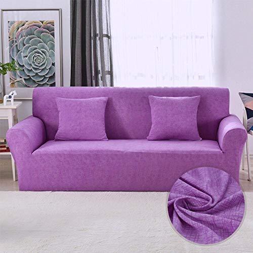 Funda de sofá Elastano Fundas de sofá Suaves duraderas Universal Funda Cubre Sofas Ajustables Antideslizante Protector Cubierta de Muebles Simple y Elegante 90~140CM