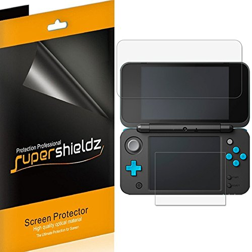Supershieldz - Protector de visualización para Nintendo 2DS XL (3 unidades, antirreflejos y antihuellas (mate)