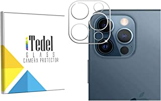 iTedel Camera Lens Protector for iPhone 12 Pro Max (2020) [UPDATED], Ultra-Thin High Definition 9H Hardness 3D Bubble-Free...