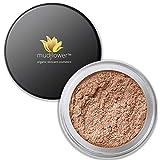 mudFlower Cosmetics Organic mineral loose powder satin eye shadow, Spice, 2.8 Gram