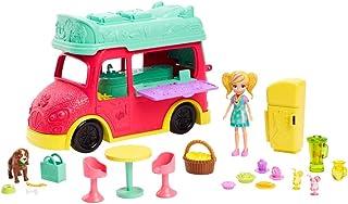 Polly Pocket Camión de Licuados, Food Truck, Nueva Polly Ed