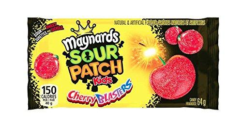 Amazon Com 18ct Maynard S Sour Cherry Blasters 64g 2 2oz Candy Grocery Gourmet Food