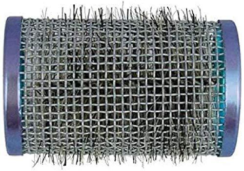 Efalock Bigoudis en métal de poils, bleu, pack de 1 (1 x 12 pièces)
