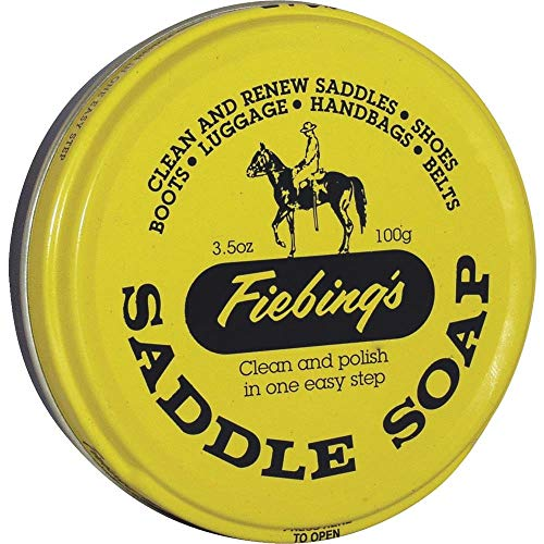 Fiebing's Saddle Soap, 3.5 oz, Yellow