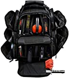 Explorer Tactical Rangemaster Gun Range Bag Backpack (Black)