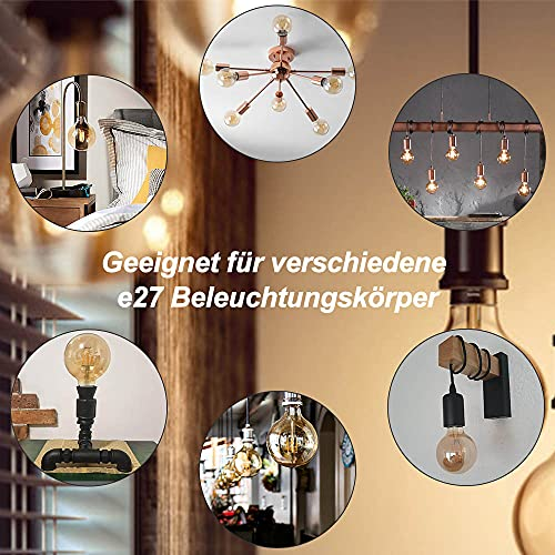HISAYSY G80_Glühbirne E27 LED Vintage