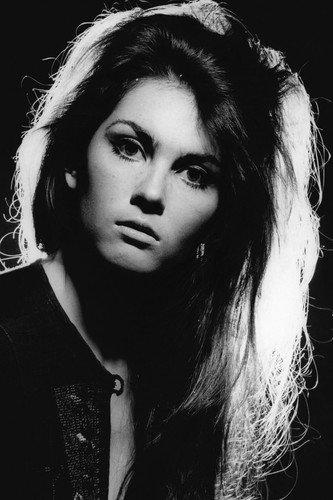 Caroline Munro stunning vintage glamour head shot 24x36 Poster