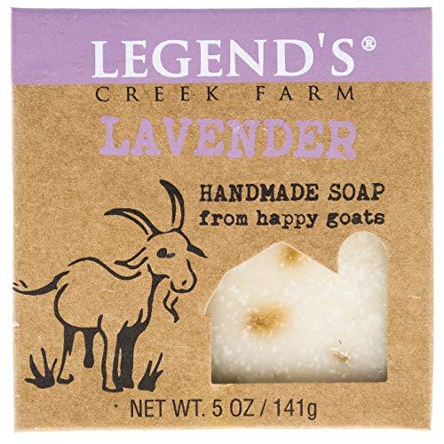 Lavender Goat Milk Soap - 5 Oz Bar - Great For Sensitive Skin - Certified Cruelty Free
